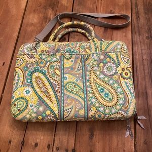Vera Bradley Lemon Parfait Laptop Case
